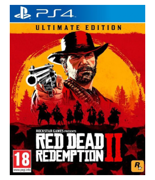 Игра Red Dead Redemption 2 Ultimate Edition [PS4, русские субтитры]