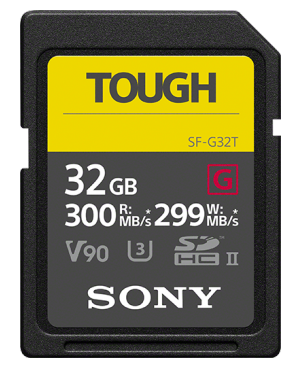 Карта памяти SD 32Гб Sony SF-G32T Class 10 UGS-II, SD TOUGH