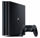 Sony PlayStation 4 Pro 1Tb G Black  (CUH-7208B)