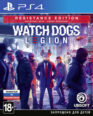 Игра Watch_Dogs: Legion. [PS4, русская версия]