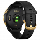 Часы Garmin Venu Blue Black/Gold, Wi-Fi, GPS