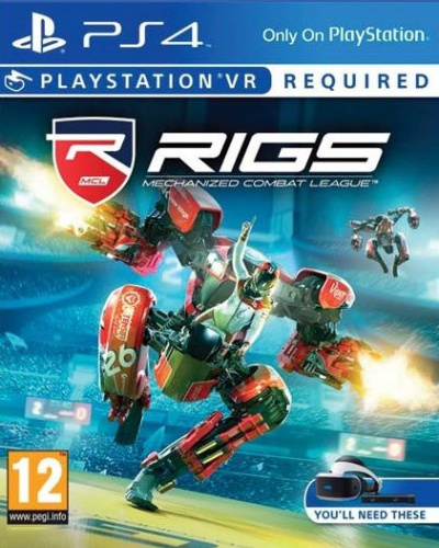 Игра RIGS: Mechanized Combat League (только для VR) [PS4. русская версия]