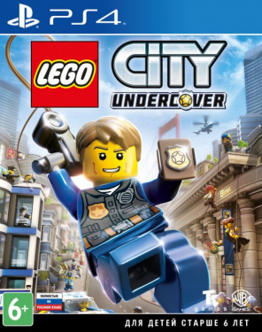 Игра LEGO City Undercover [PS4, русская версия]