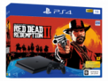 Sony PlayStation 4 1TB Red Dead Redemption 2