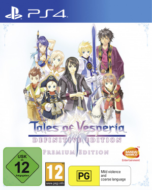 Игра Tales of Vesperia. Definitive Edition. Premium Edition [PS4, русские субтитры]