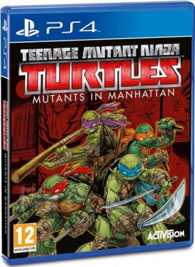 Игра Teenage Mutant Turtles Mutants in Manhattan [PS4]