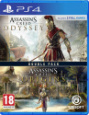 Игра Assassin's Creed: Одиссея + Assasin's Creed: Истоки [PS4, русская версия]