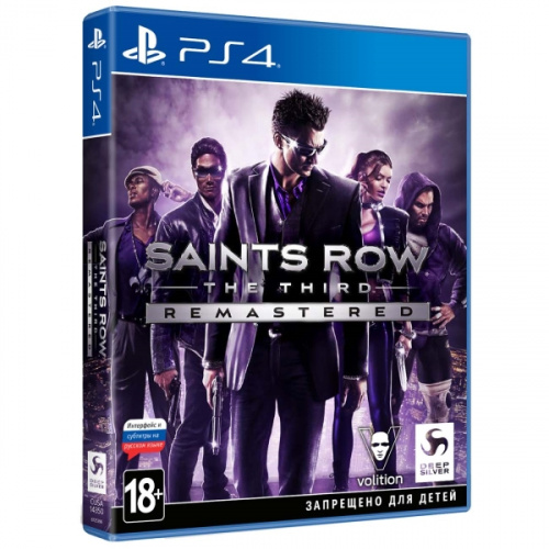 Игра Saints Row: The Third - Remastered. Стандартное издание [PS4, русские субтитры]