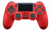 DUALSHOCK 4 v2 для Playstation 4 красная лава